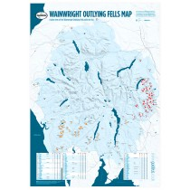 Wainwright Outlying Fells Map