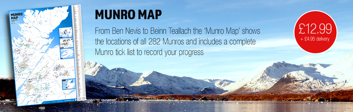Munro Map and Tick List